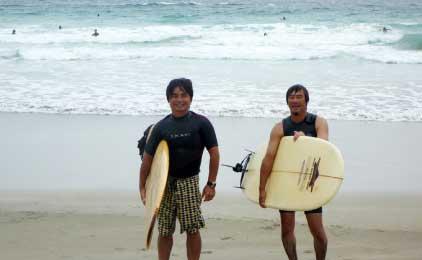 久保田組とび日記サーフィンの画像